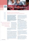 DIN - DIN SPEC 77222 - Transparenz bei der Finanzberatung
